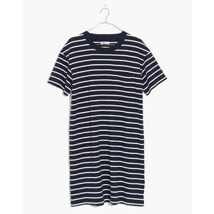 Madewell Pocket Tee Shirt Dress Medium Blue Tunic